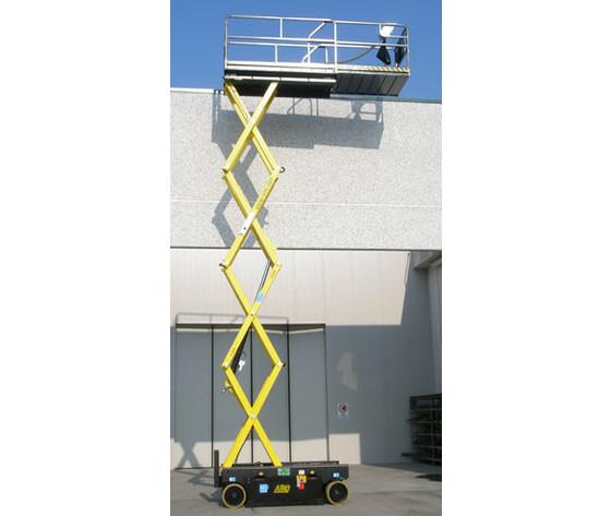 Piattaforma semovente verticale elettrica 12mt