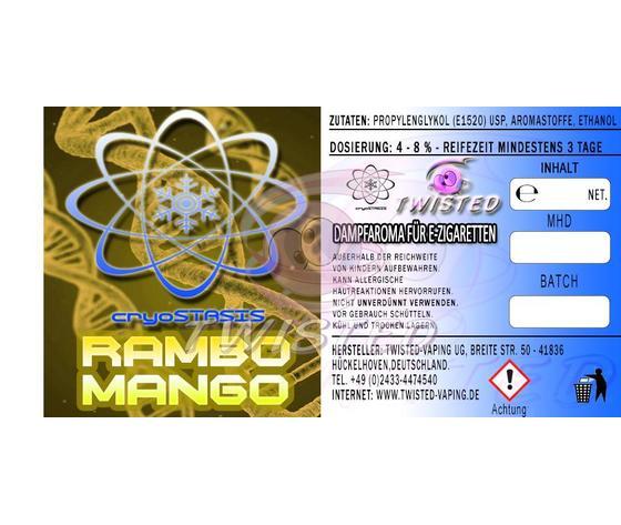 RAMBO MANGO CRYOSTASIS