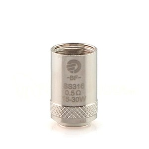BF SS316 0,5 ohm DL per Cubis