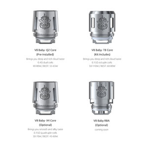 TFV8 Baby-Q2 Coil 0.4 ohm