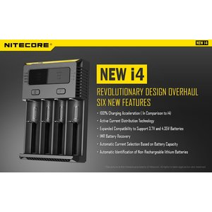 Nitecore new i4 wall charger EU