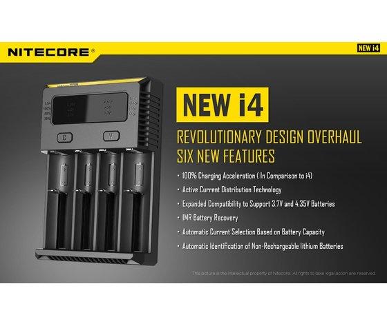 Nitecore new i4 wall charger EU