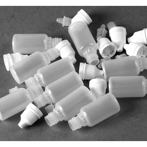 10 ML BOTTLE WITH THEFT PROOFING CAP WHITE