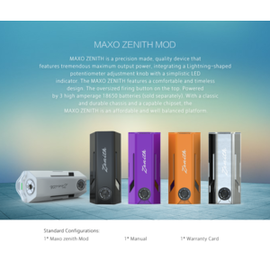 MAXO ZENITH Mod