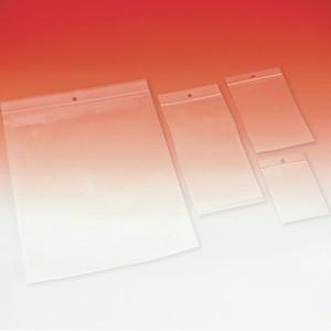 Busta Minigrip Originale, conf. da 1000 pezzi, in polietilene con riga rossa, con foro 0