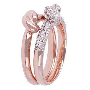 Anello Romanze Set Knoted Ring  Bronzallure Milano