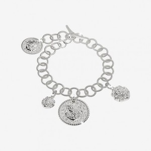 Bracciale Rebecca in argento con testa di leone The Lion Queen