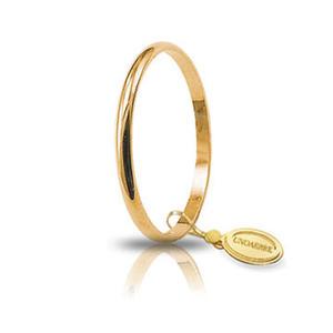 Fede Matrimoniale Unoaerre 1,5 grammi Francesina Oro Giallo