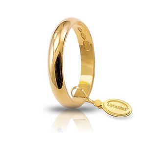 Fede Matrimoniale Unoaerre 3,00 grammi Classica Oro Giallo