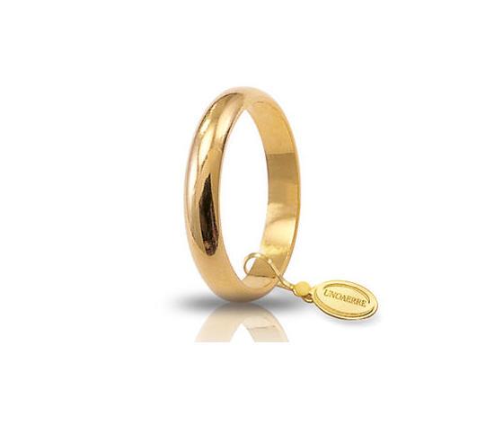 Fede Matrimoniale Unoaerre 5,00 grammi Classica Oro Giallo