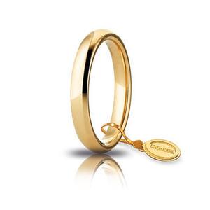 Fede Matrimoniale Unoaerre Comoda 3,5 mm. Oro Giallo