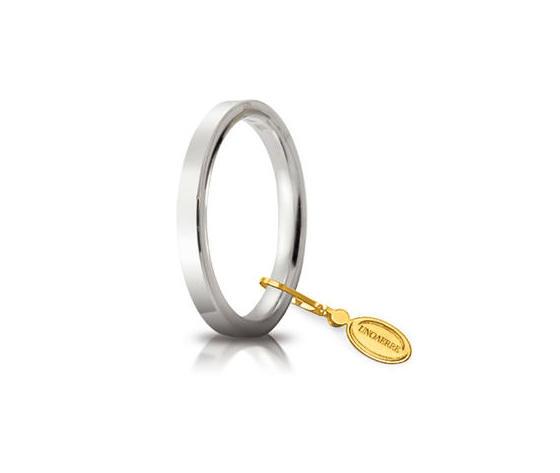 Fede Unoaerre Cerchi di Luce 2,5 mm. Oro Bianco