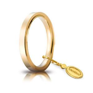Fede Unoaerre Cerchi di Luce 2,5 mm. Oro Giallo