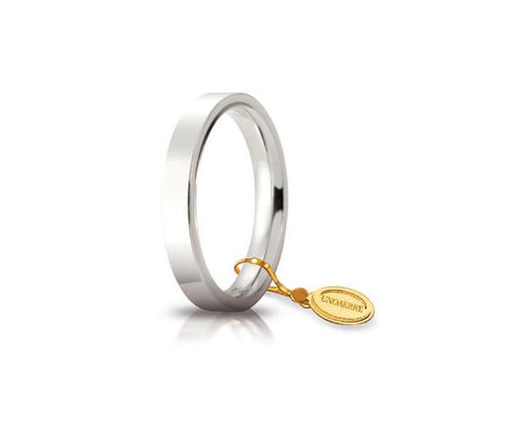 Fede Unoaerre Cerchi di Luce 3,5 mm. Oro Bianco