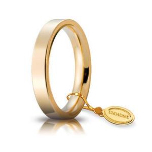 Fede Unoaerre Cerchi di Luce 3,5 mm. Oro Giallo