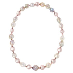 Collier Perle Colorate Maxima Bronzallure Milano