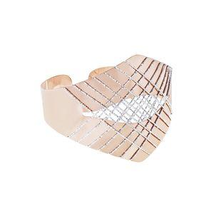 Bracciale Stroili bangle in bronzo bicolore