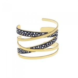 Bracciale Stroili bangle in ottone dorato