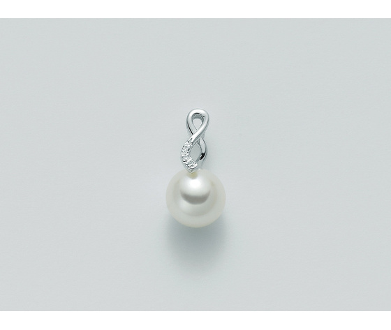 Ciondolo Yukiko Perla e Diamanti PPF322