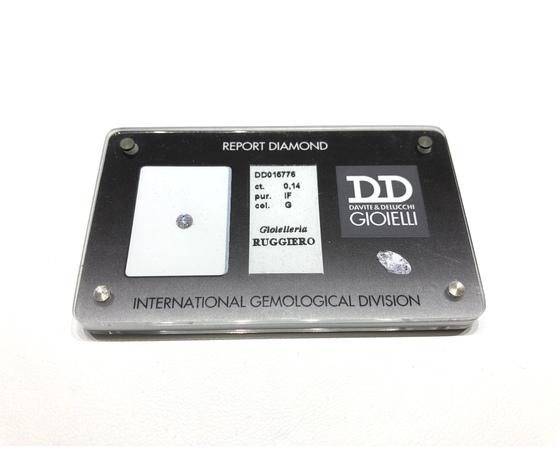 Diamante Certificato D&D Kt. 0,14