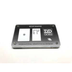 Diamante Certificato D&D Kt. 0,25