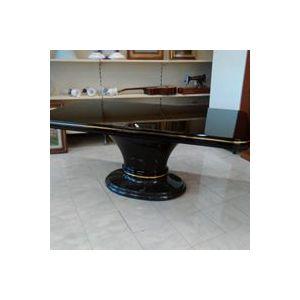 Tavolo Erable laccato nero