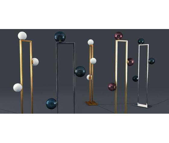 Venicem mondrian glass floor lamp 3d model max