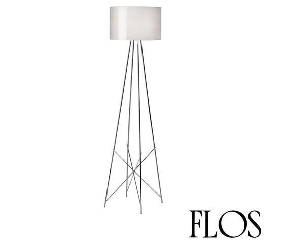 Flos ray f2 lampada da terra vetro