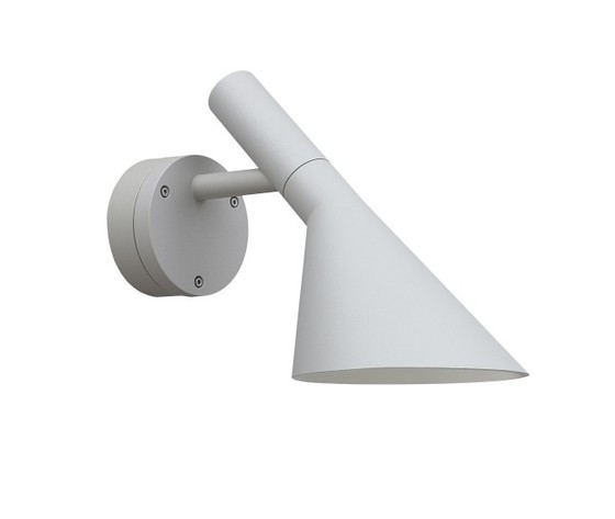 Aj wall lamp white outdoor 1