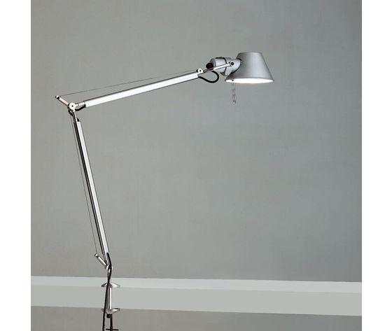 Artemide tolomeo clamp table lamp