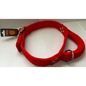 collare nylon rosso CM75  MM40