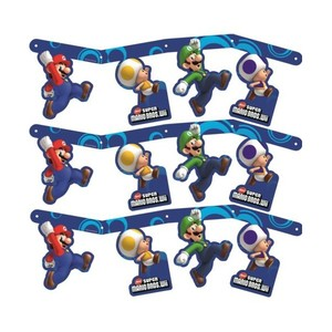 Festone Mario Bros