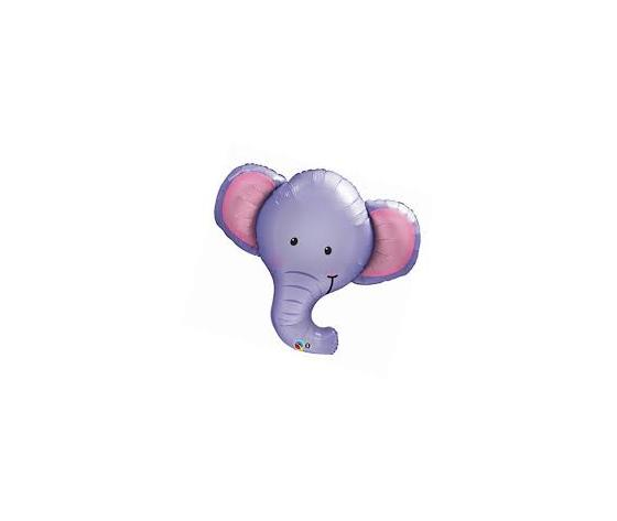 Pallone mylar supershape elefante
