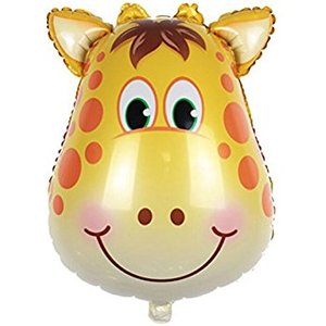 Pallone mylar supershape giraffa
