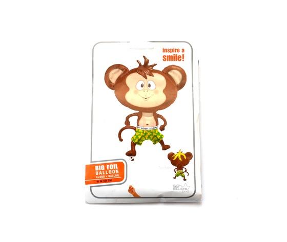 Pallone mylar supershape scimmia
