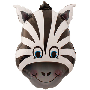 Pallone mylar supershape zebra