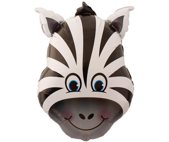 Pallone mylar supershape zebra