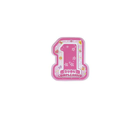 Piatti 1 compleanno femminuccia