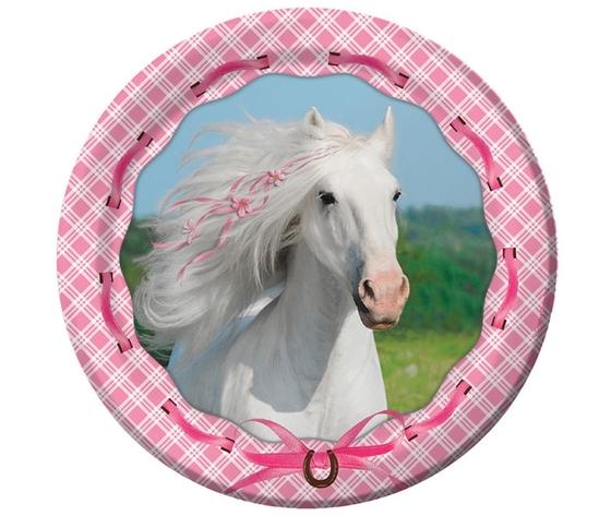 Piatti cavallo bianco