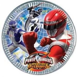 Piatti Power Rangers