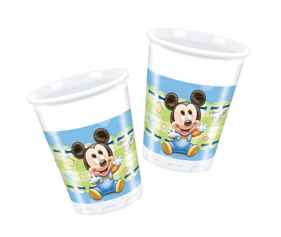 Bicchieri baby topolino
