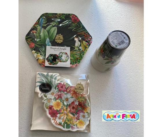 Tropical jungle kit