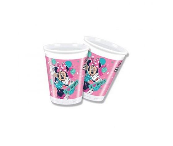 Bicchieri minnie rosa