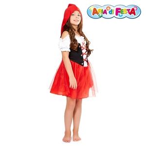 Costume di Carnevale cappuuccetto rosso