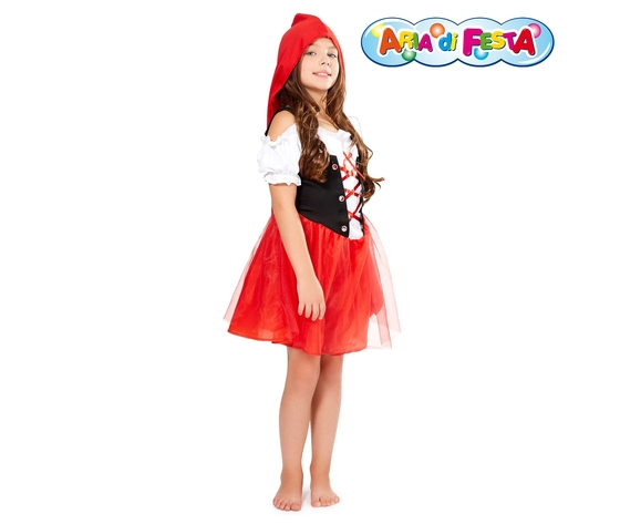 Costume carnevale cappuccetto rosso