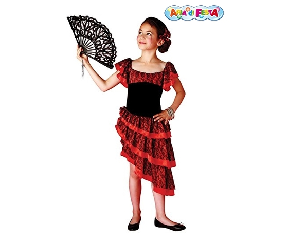 Costume carnevale flamenco