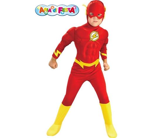 Costume carnevale flash