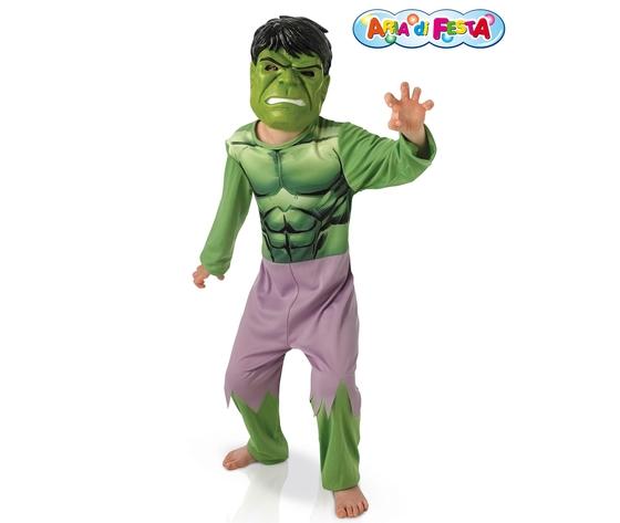 Costume carnevale hulk