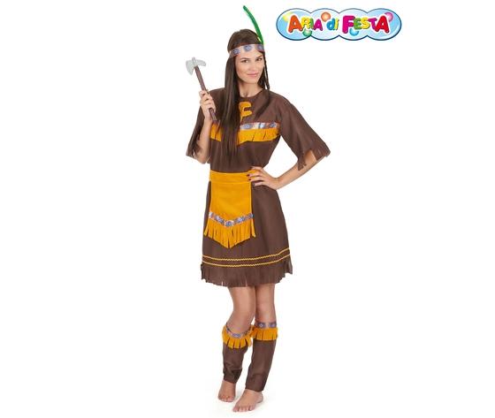 Costume carnevale indiana