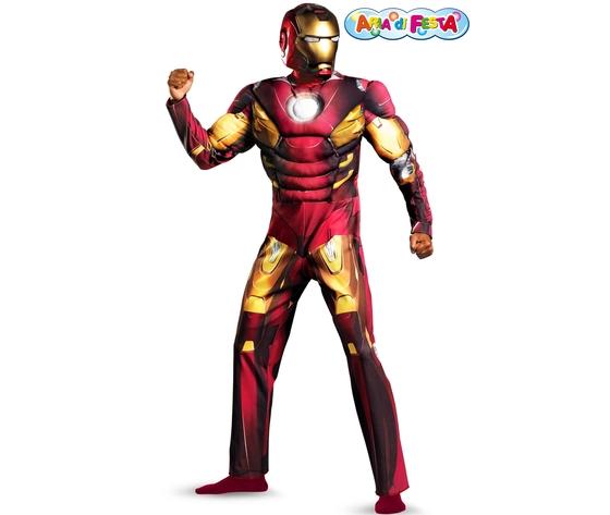 Costume carnevale iron man